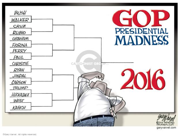 Cartoonist Gary Varvel  Gary Varvel's Editorial Cartoons 2015-03-17 Paul