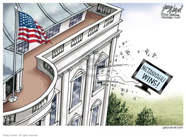 Gary Varvel  Gary Varvel's Editorial Cartoons 2015-03-19 United States and Israel