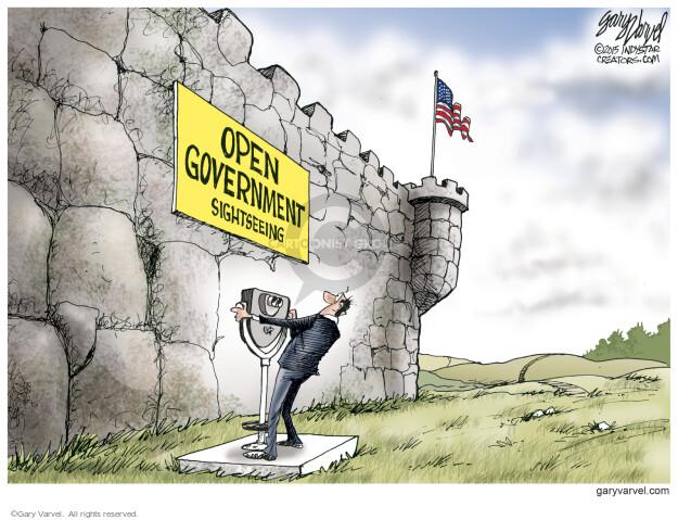 Cartoonist Gary Varvel  Gary Varvel's Editorial Cartoons 2015-03-22 open