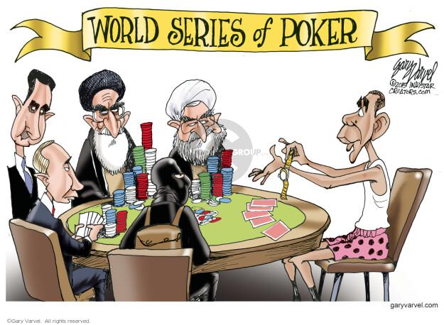 Cartoonist Gary Varvel  Gary Varvel's Editorial Cartoons 2015-03-29 world