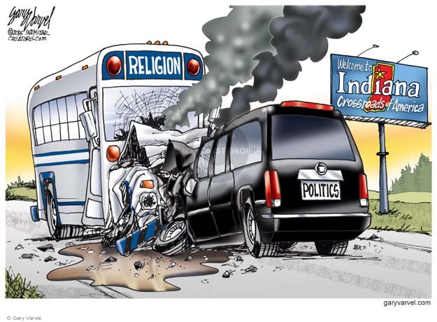 Cartoonist Gary Varvel  Gary Varvel's Editorial Cartoons 2015-04-03 civil