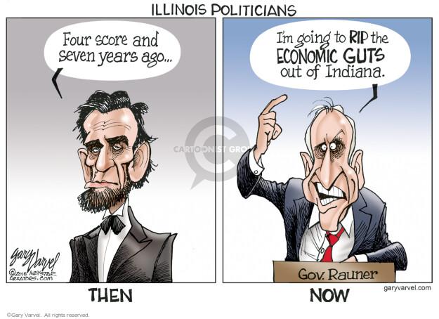 Cartoonist Gary Varvel  Gary Varvel's Editorial Cartoons 2015-04-09 Indiana