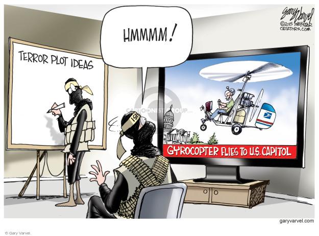 Gary Varvel  Gary Varvel's Editorial Cartoons 2015-04-17 homeland
