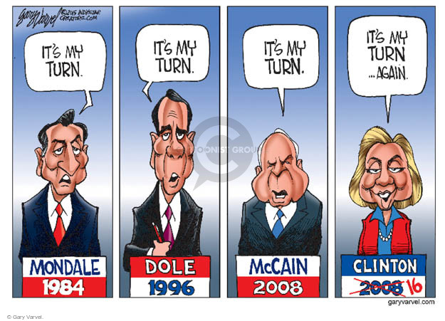Cartoonist Gary Varvel  Gary Varvel's Editorial Cartoons 2015-04-20 John McCain