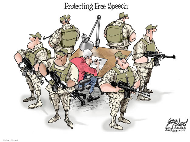 Protecting Free Speech.