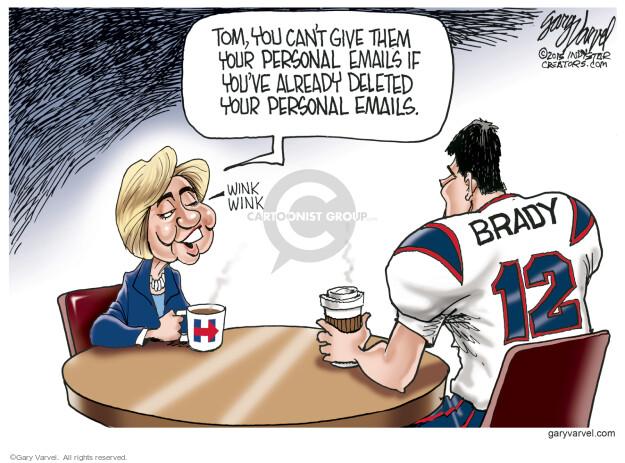 Cartoonist Gary Varvel  Gary Varvel's Editorial Cartoons 2015-05-10 Brady