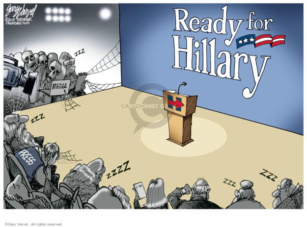 Cartoonist Gary Varvel  Gary Varvel's Editorial Cartoons 2015-05-17 press secretary