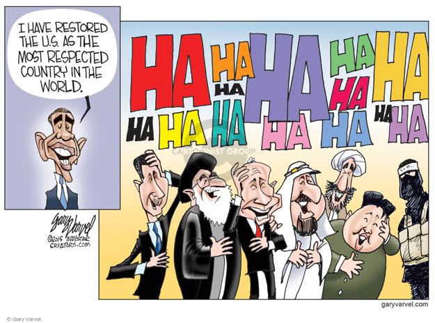 Cartoonist Gary Varvel  Gary Varvel's Editorial Cartoons 2015-06-07 Korea