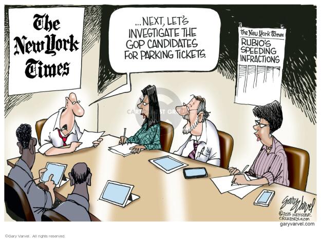 Gary Varvel  Gary Varvel's Editorial Cartoons 2015-06-09 media bias