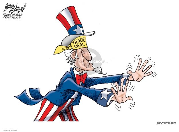 Gary Varvel  Gary Varvel's Editorial Cartoons 2015-06-14 trade