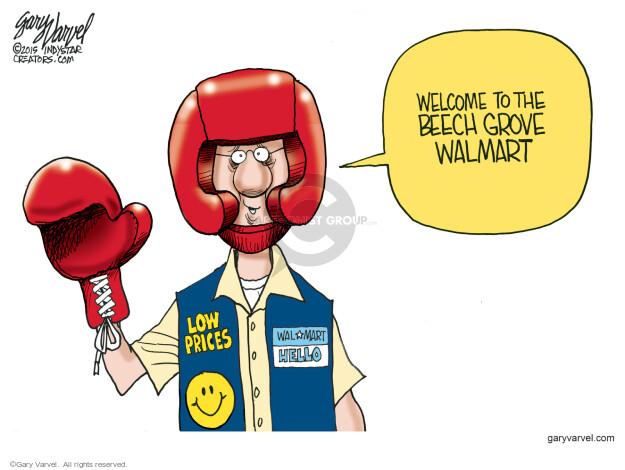 Gary Varvel  Gary Varvel's Editorial Cartoons 2015-06-15 boxing