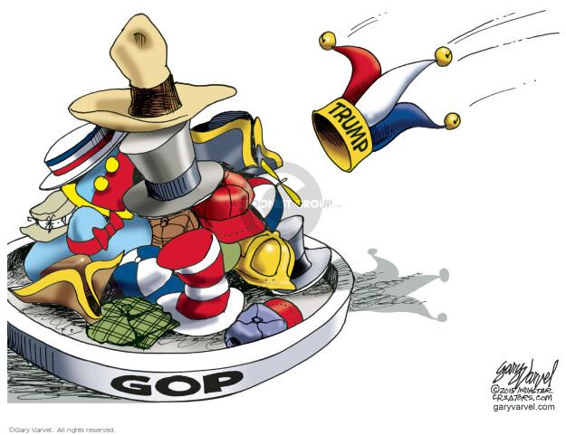 Cartoonist Gary Varvel  Gary Varvel's Editorial Cartoons 2015-06-17 ring