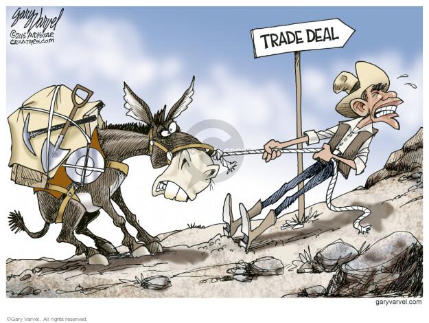 Gary Varvel  Gary Varvel's Editorial Cartoons 2015-06-18 trade