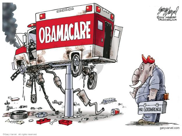 Gary Varvel  Gary Varvel's Editorial Cartoons 2015-06-25 policy