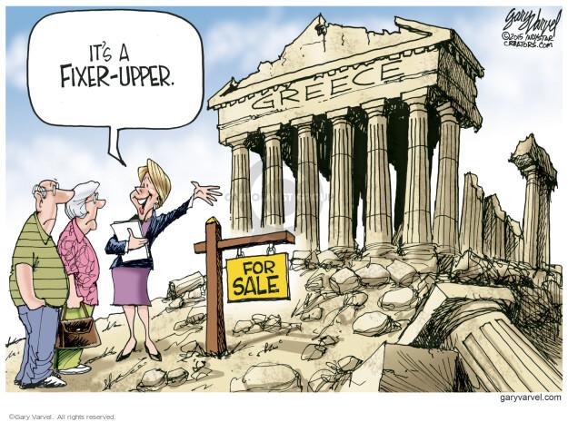 Cartoonist Gary Varvel  Gary Varvel's Editorial Cartoons 2015-07-14 economy