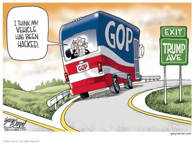 Cartoonist Gary Varvel  Gary Varvel's Editorial Cartoons 2015-07-29 republican party