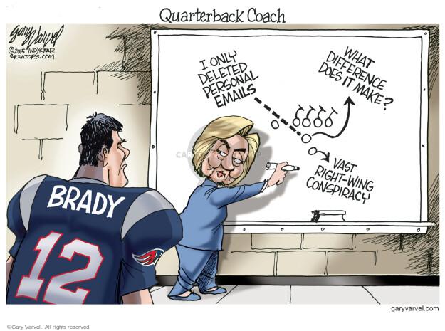 Cartoonist Gary Varvel  Gary Varvel's Editorial Cartoons 2015-08-03 Brady