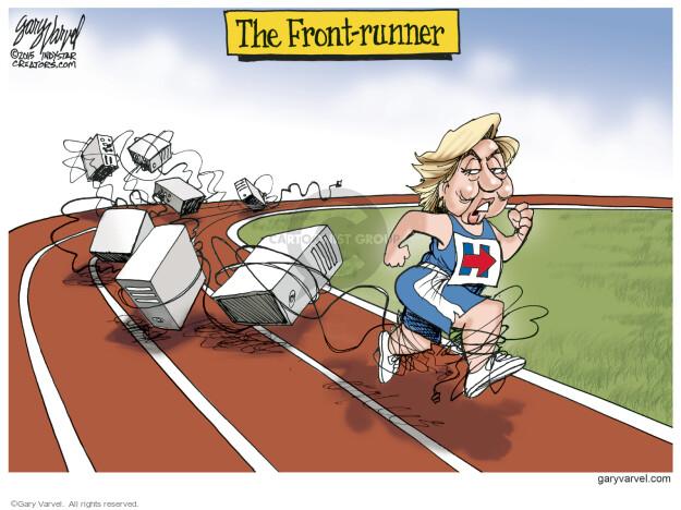 Cartoonist Gary Varvel  Gary Varvel's Editorial Cartoons 2015-08-23 front