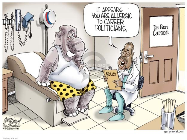Gary Varvel  Gary Varvel's Editorial Cartoons 2015-09-02 doctor