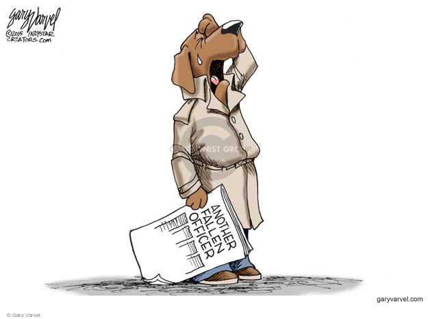 Cartoonist Gary Varvel  Gary Varvel's Editorial Cartoons 2015-09-03 law