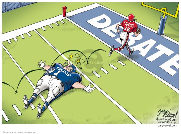 Cartoonist Gary Varvel  Gary Varvel's Editorial Cartoons 2015-09-18 republican debate