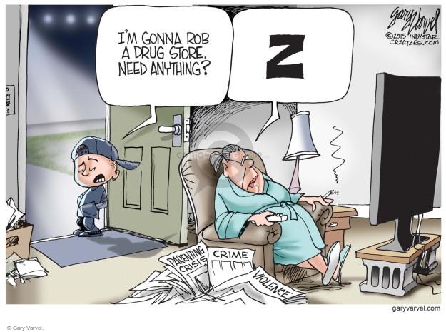 Cartoonist Gary Varvel  Gary Varvel's Editorial Cartoons 2015-10-02 store