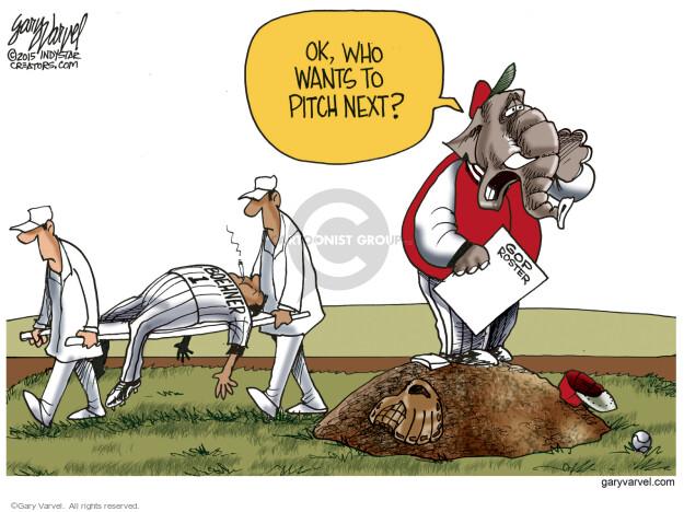 Cartoonist Gary Varvel  Gary Varvel's Editorial Cartoons 2015-10-08 John Branch