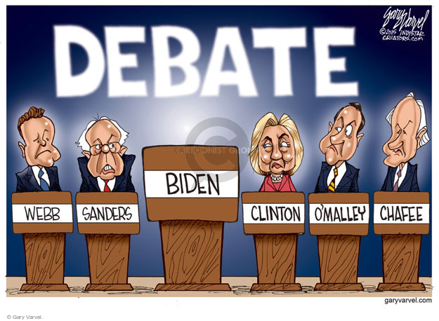 Cartoonist Gary Varvel  Gary Varvel's Editorial Cartoons 2015-10-13 2016 Election Joe Biden