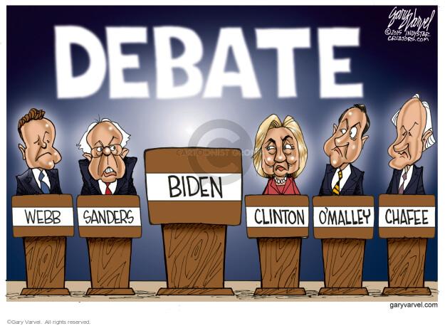 Gary Varvel  Gary Varvel's Editorial Cartoons 2015-10-13 2016 Election Joe Biden