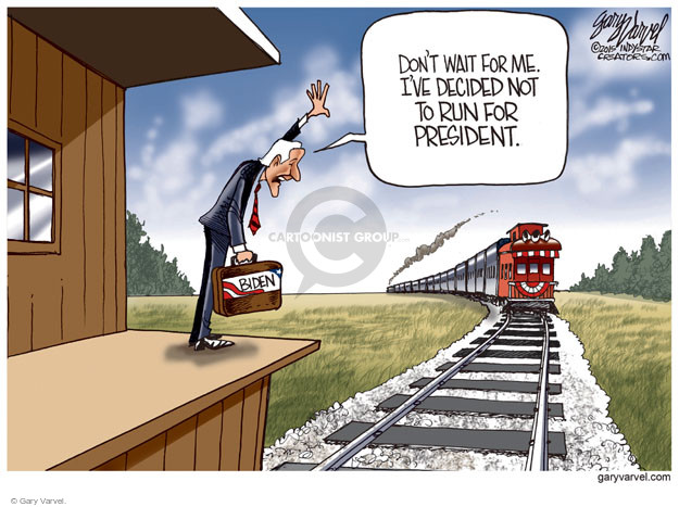 Gary Varvel  Gary Varvel's Editorial Cartoons 2015-10-22 2016 Election Joe Biden