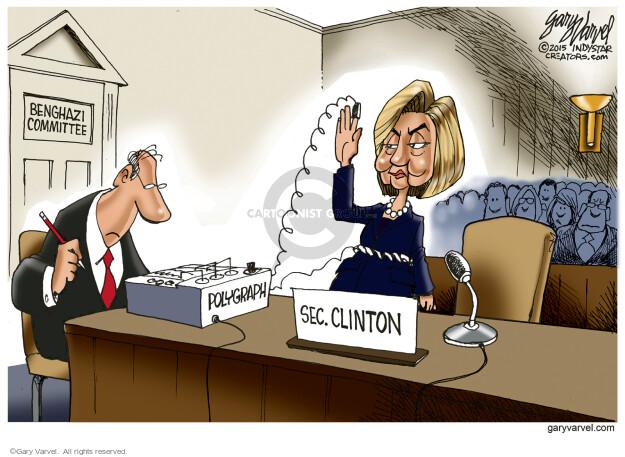 Cartoonist Gary Varvel  Gary Varvel's Editorial Cartoons 2015-10-23 legislation