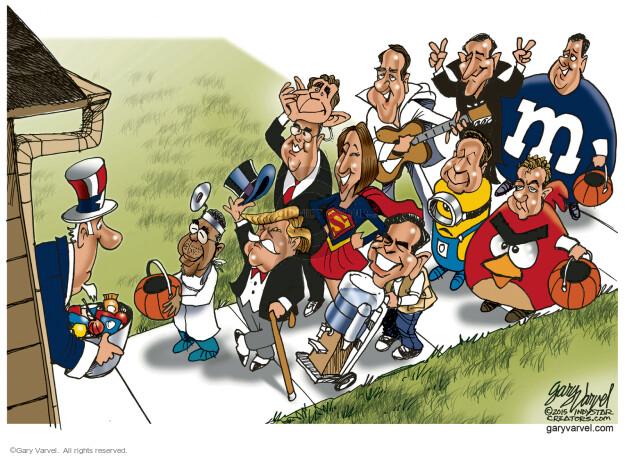 Cartoonist Gary Varvel  Gary Varvel's Editorial Cartoons 2015-10-29 Paul