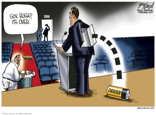 Cartoonist Gary Varvel  Gary Varvel's Editorial Cartoons 2015-11-01 republican debate