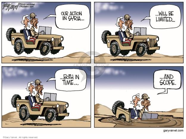 Cartoonist Gary Varvel  Gary Varvel's Editorial Cartoons 2015-11-04 military
