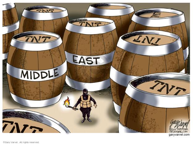 Cartoonist Gary Varvel  Gary Varvel's Editorial Cartoons 2015-11-29 attack