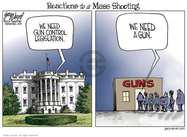 Cartoonist Gary Varvel  Gary Varvel's Editorial Cartoons 2015-12-07 reaction