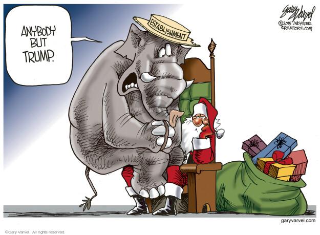 Gary Varvel  Gary Varvel's Editorial Cartoons 2015-12-10 GOP
