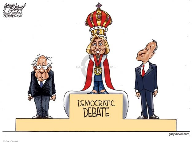 Gary Varvel  Gary Varvel's Editorial Cartoons 2015-12-18 election debate