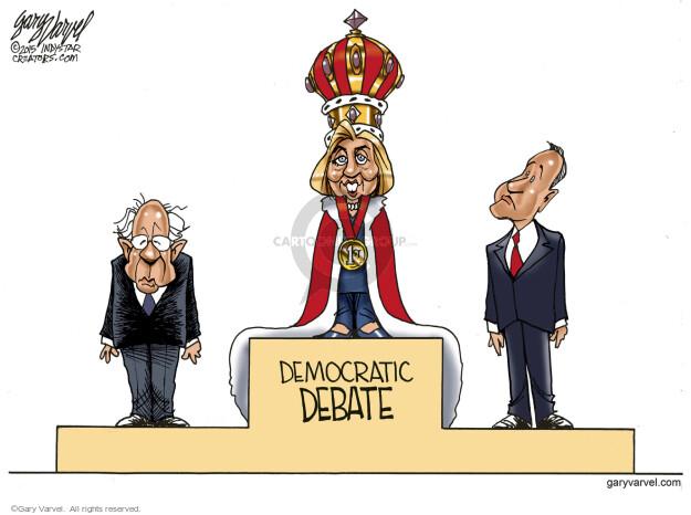 Gary Varvel  Gary Varvel's Editorial Cartoons 2015-12-18 debate