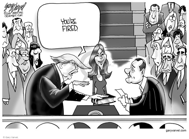 Cartoonist Gary Varvel  Gary Varvel's Editorial Cartoons 2015-12-20 Supreme Court
