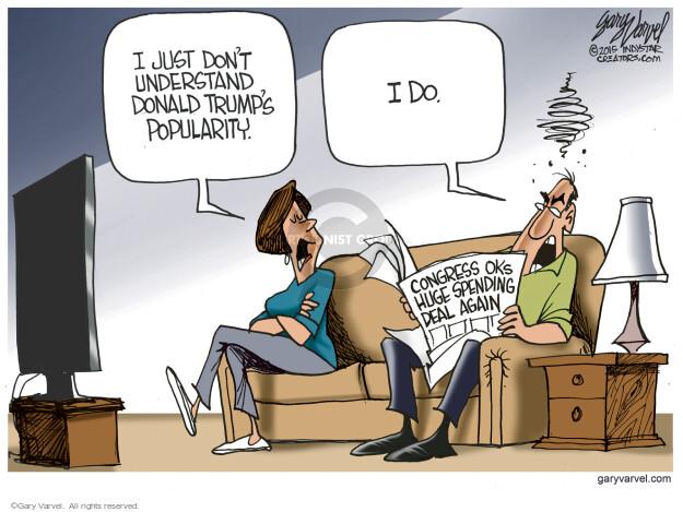 Cartoonist Gary Varvel  Gary Varvel's Editorial Cartoons 2015-12-22 legislation