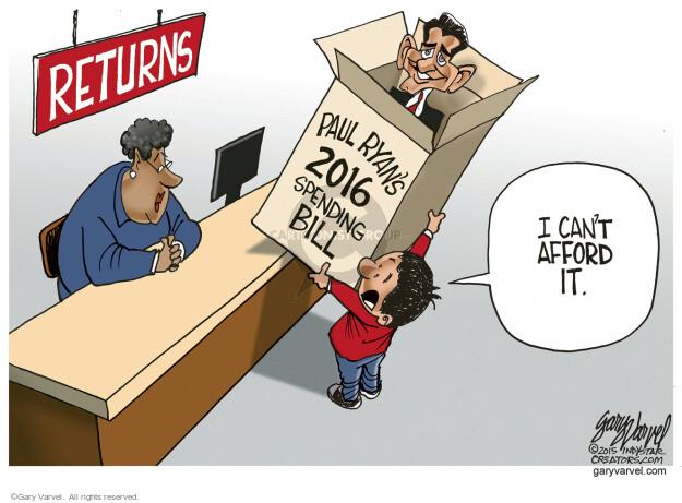Cartoonist Gary Varvel  Gary Varvel's Editorial Cartoons 2015-12-27 Paul