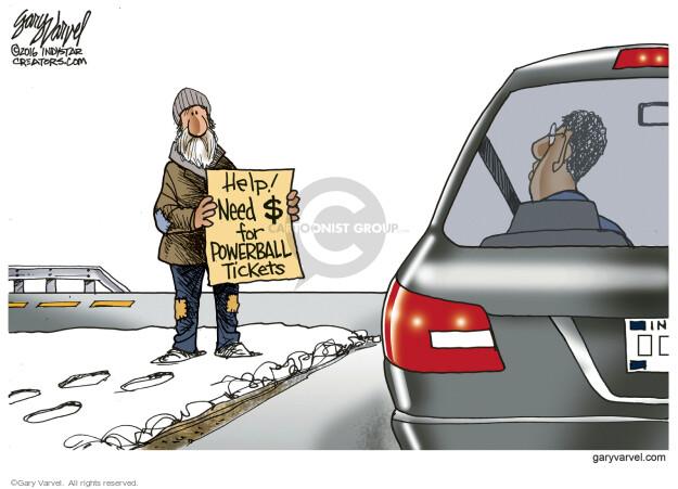 Cartoonist Gary Varvel  Gary Varvel's Editorial Cartoons 2016-01-13 Indiana
