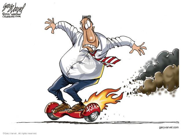 Gary Varvel  Gary Varvel's Editorial Cartoons 2016-01-15 401k