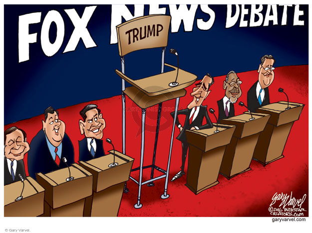 Gary Varvel  Gary Varvel's Editorial Cartoons 2016-01-28 election debate