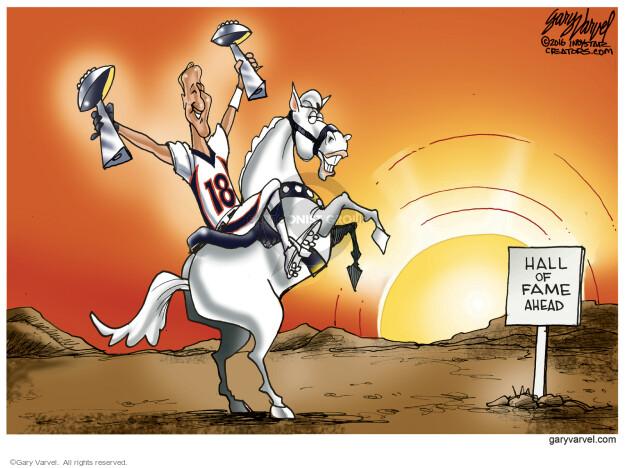 Gary Varvel  Gary Varvel's Editorial Cartoons 2016-02-09 ahead