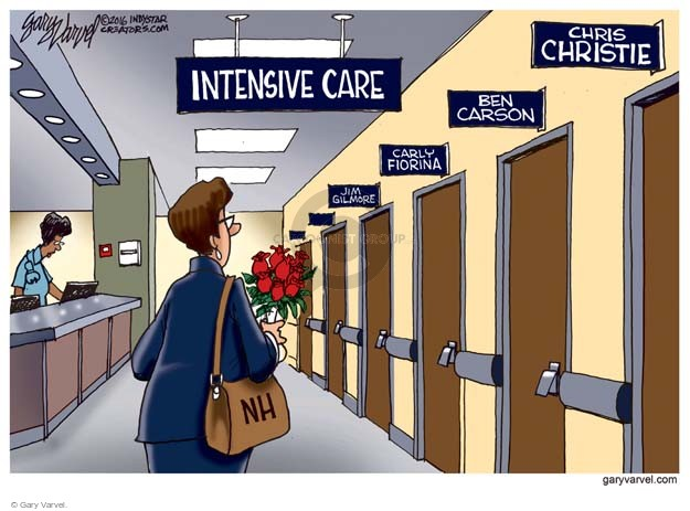 Gary Varvel  Gary Varvel's Editorial Cartoons 2016-02-11 hospital