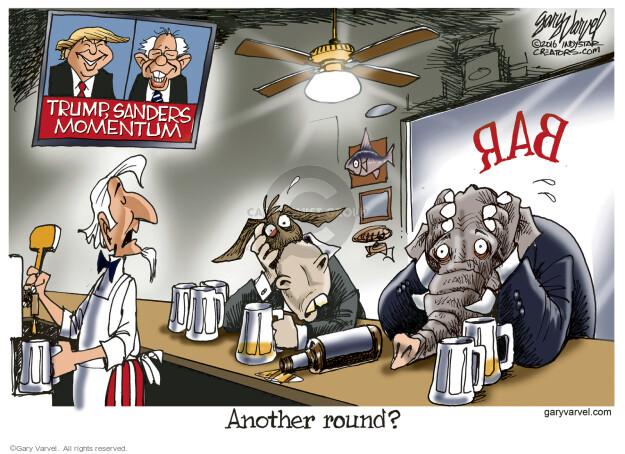 Gary Varvel  Gary Varvel's Editorial Cartoons 2016-02-15 Bernie Sanders