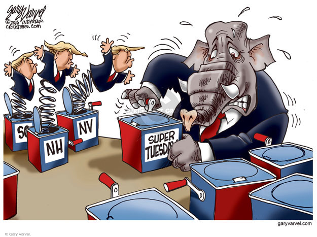 Cartoonist Gary Varvel  Gary Varvel's Editorial Cartoons 2016-03-01 alternative