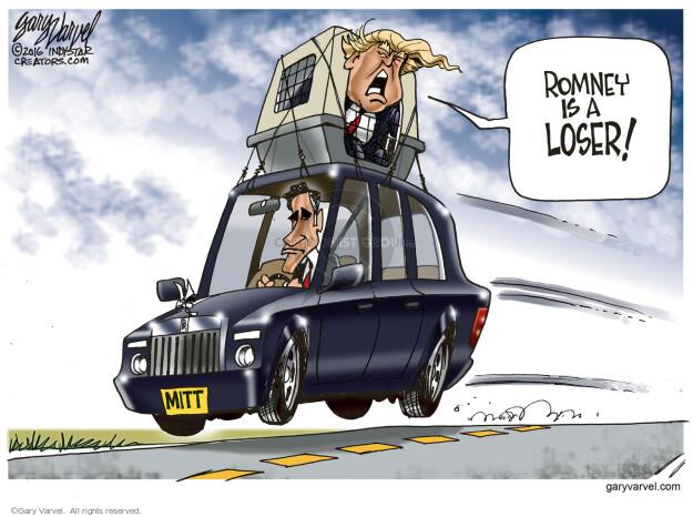 Gary Varvel  Gary Varvel's Editorial Cartoons 2016-03-04 2016 election Mitt Romney